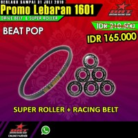 Paket Super Roller & V Belt BRT Honda Beat Pop