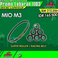 Paket Super Roller & V Belt BRT Yamaha Mio M3