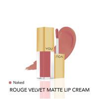 Y.O.U Rouge Velvet Matte Lip Cream 02 Naked High Pigmented