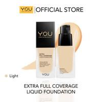 Y.O.U Extra Full Coverage Liquid Foundation 02 Light Matte Flawless