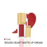Y.O.U Rough Velvet Matte Lip Cream 08 Coco High Pigmented