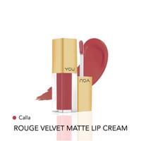 Y.O.U Rouge Velvet Matte Lip Cream 07 Calla High Pigmented