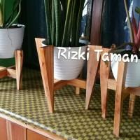 Standing Planter bahan kayu | standing pot tanaman | house plants