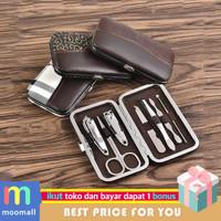 Gunting Kuku set 7 pcs Nail Art Set Manicure Pedicure wanita