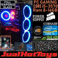 PC Gaming Core i5 3570 8GB 16GB RX 570 1060 6GB AMD Rakitan High Game