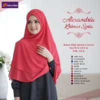 Khimar Syari Original Nibras Hijab Alexandria Khimar Syria Ceruty