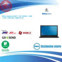 DELL Inspiron 3467 - BLACK - Ci3 4GB 1TB Intel HD - W 10 SL FREE MOUSE