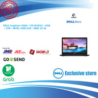 DELL Inspiron 3480 - i5-8265U 4GB 1TB INTEL HD - W10SL FREE HEADSET