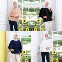 Pakaian baju atasan Wanita Muslim Valen blouse Dress Tunik