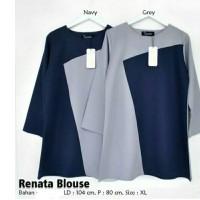 Renata Blouse Pakaian Atasan Wanita Muslim Dress tunik zahra Stores