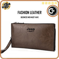 Stylish Jeep Bluluo Leather Wallet Handbag for Men