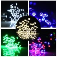 dekorasi pohon natal lampu bertali 15m 100 LED ornament pohon natal la