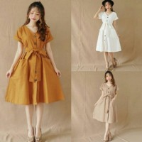 Mikha Dress / Dress Wanita / Dress Terbaru / Best Seller