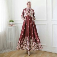 Maxi Dress Fahira / Maxi Dress Terbaru / Maxi Dress Kekinian /