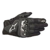 Alpinestars SMX1 Air V2 Carbon Gloves Black Sarung Tangan