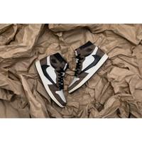 Nike Travis Scott x Air Jordan 1 Retro High OG Mocha   CD4487 100