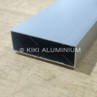 "Hollow Aluminium 25 x 50 mm (1"" x 2"") - Panjang 6 meter - Tebal 1 mm"