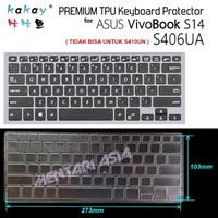 Keyboard Protector ASUS VivoBook S14 S406UA - KAKAY Premium TPU Clear