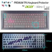Keyboard Protector ACER NITRO 5 AN515 - KAKAY Premium TPU Clear
