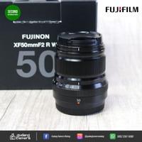 Secondhand - Fujinon XF 50mm F2 R WR - Gudang Kamera Malang