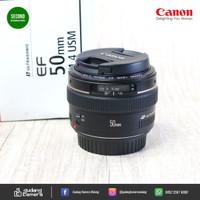 Secondhand - Canon Ef 50mm f1.4 USM - Gudang Kamera Malang