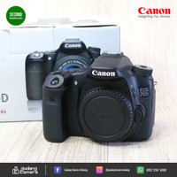 SECONDHAND - Canon EOS 70d - 2620 - Body Only (Gudang Kamera Malang)