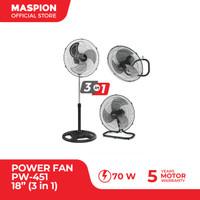 """Maspion Power Fan 18"""" PW-451 ( 3 In 1 )"""