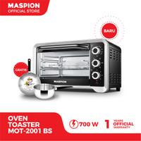 Maspion Oven Toaster (Tungku Pemanggang) MOT-2001BS Kapasitas 20 Liter