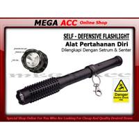 Electric Stun Gun With Torch - Tongkat Setrum & Senter LED