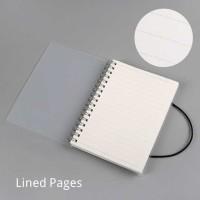 Buku Binder Catatan Jurnal Harian Notebook Ukuran A6 buku agenda