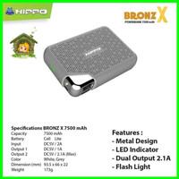 HIPPO Bronze X Power Bank 7500 mAh