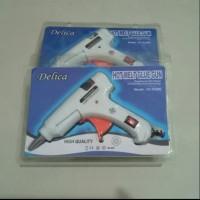 Mesin lem tembak kecil / glue gun kecil + lem