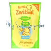 Zwitsal Natural Baby Bath 2in1 Hair & Body Refill 450ml