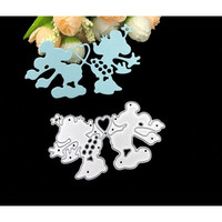 Cutting Dies - Micky Minnie Mouse