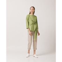 Callie Cotton - Rowen Top ( Green / Hijau )