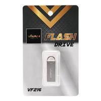 Vivan Flashdisk VF216 16GB Pearl Nickel with 360 Rotation Design
