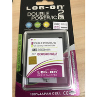 Grandprime . Samsung Baterai Batrai Batre Batere Double Power Logon