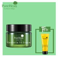 Package 3 : Pureheals Centella 70 Cream + Propolis Foam Cleanser