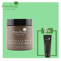 Package 4: Pureheals Volcanic Pore Refining Mask + Black Charcoal Foam