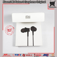Headset Xiaomi Mi Piston 3 Original Earphone Mic In-Ear