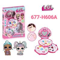 Cartoon Cosmetics Set LOL - 677-H606A
