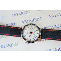 JAM TANGAN PRIA ALBA AS9D13X1 WHITE DIAL BLACK AS9D13 ORIGINAL