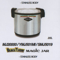 Pemanas Nasi Jumbo YONG MA SMJ5019 – Magic Jar 20 Liter Blacktinum
