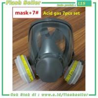 L1S 3M Masker Gas Acid Full Face - 6800 no.7