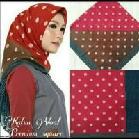hijab deenay kw/ voal segi empat motif ala premium hijab