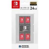 Nintendo Switch HORI Card Case 24+2 White