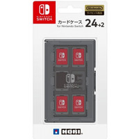 Nintendo Switch HORI Card Case 24+2 Black
