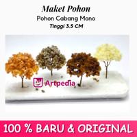 Maket Pohon Cabang Mono / Diorama Pohon / Miniatur Pohon Tinggi 3.5 cm