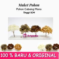 Maket Pohon Cabang Mono / Diorama Pohon / Miniatur Pohon Tinggi 1 cm