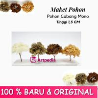 Maket Pohon Cabang Mono / Diorama Pohon / Miniatur Pohon Tinggi 1.5 cm